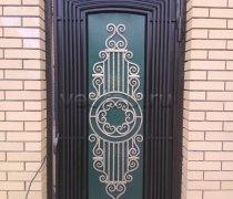 Кованые двери #6