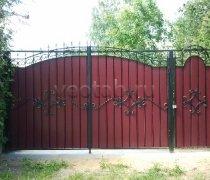Ворота распашные #013