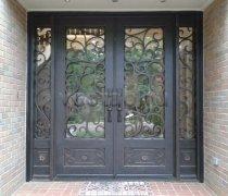 Кованые двери #005