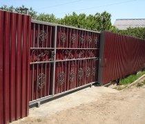 Ворота кованые #11