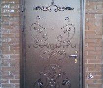 Кованые двери #19