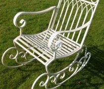 Кованые кресла-качалки #6