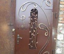 Кованые двери #008