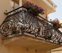 Кованые балконы #5