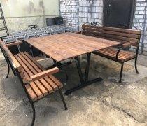 Кованая мебель для дачи #0001