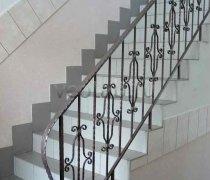 Перила арт.0008 ограждение лестничное/балконное кованое
