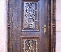 Кованые двери #009