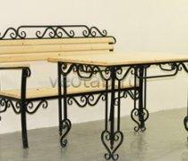 Кованая мебель для дачи #0062