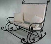 Кованые кресла-качалки #8