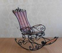 Кованые кресла-качалки #13