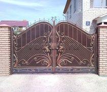 Ворота кованые #025