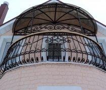 Кованые балконы #6