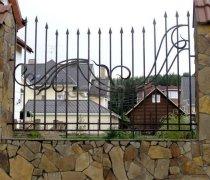 Забор кованый #0004