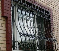 Кованные решетки на окна #64