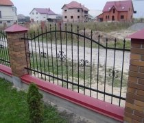 Кованый забор #11