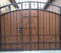 Ворота кованые #066