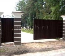Ворота откатные  #7
