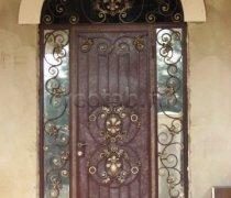 Кованые двери #14