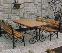 Кованая мебель для дачи #0063