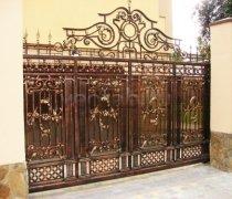 Ворота кованые #6