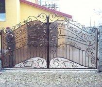 Ворота кованые #12