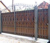 Ворота распашные  #14