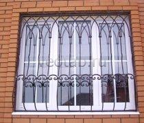 Кованные решетки на окна #67
