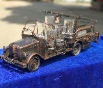 Кованый подарок #012 (минибар/винница в виде- пожарная машина)
