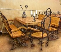 Кованая мебель для дачи #0055