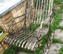 Кованые кресла-качалки #9