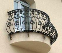 Кованые балконы #0017