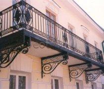 Кованые балконы #0018