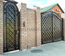 Ворота кованые #062