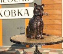 Кованый подарок #059 (кот кованный, винница)