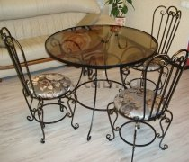 Кованая мебель для дачи #0014