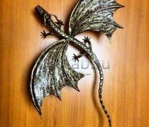 Кованый подарок #038 (дракон малый)
