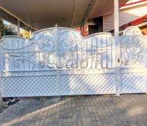 Ворота кованые #064