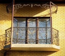 Кованые балконы #0001