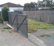 Ворота откатные  #17