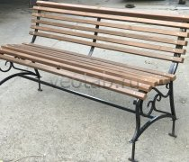 Садовая скамейка #00126