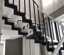 Перила арт.0002 ограждение лестничное/балконное кованое