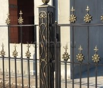 Ворота кованые #14