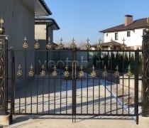 Ворота кованые #014