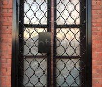 Кованые двери #011 (решетчатая)