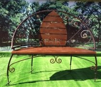 Садовая скамейка #0000112