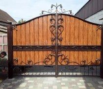 Ворота распашные #025