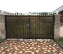 Ворота кованые #088