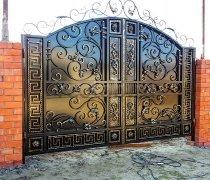 Ворота кованые #060