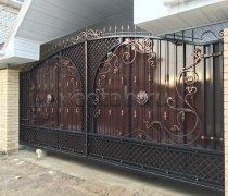 Ворота кованые #021