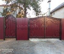 Ворота кованые #065